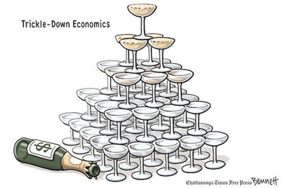 trickle down failure
