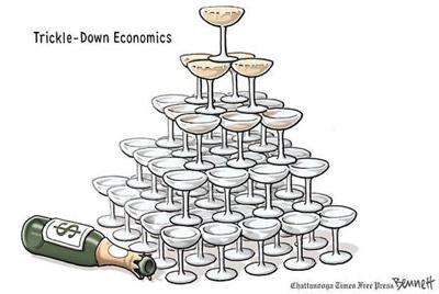 trickle down failure